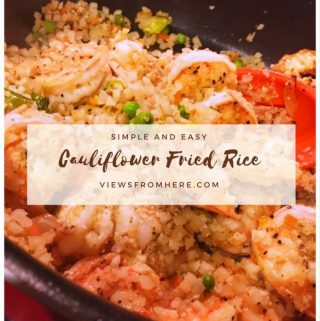 Meal prep Monday: Healthy cauliflower fried rice
