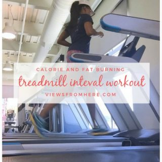 return to fasted cardio with a treadmill interval workout