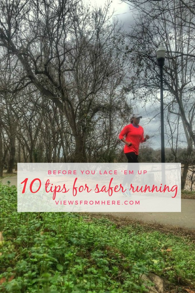running safety tips to keep you safe while outdoors