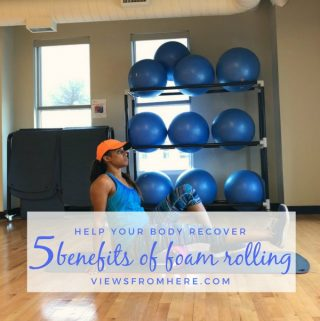 5 benefits of foam rolling to recover faster