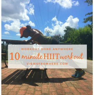 10 minute HIIT workout you can do anywhere