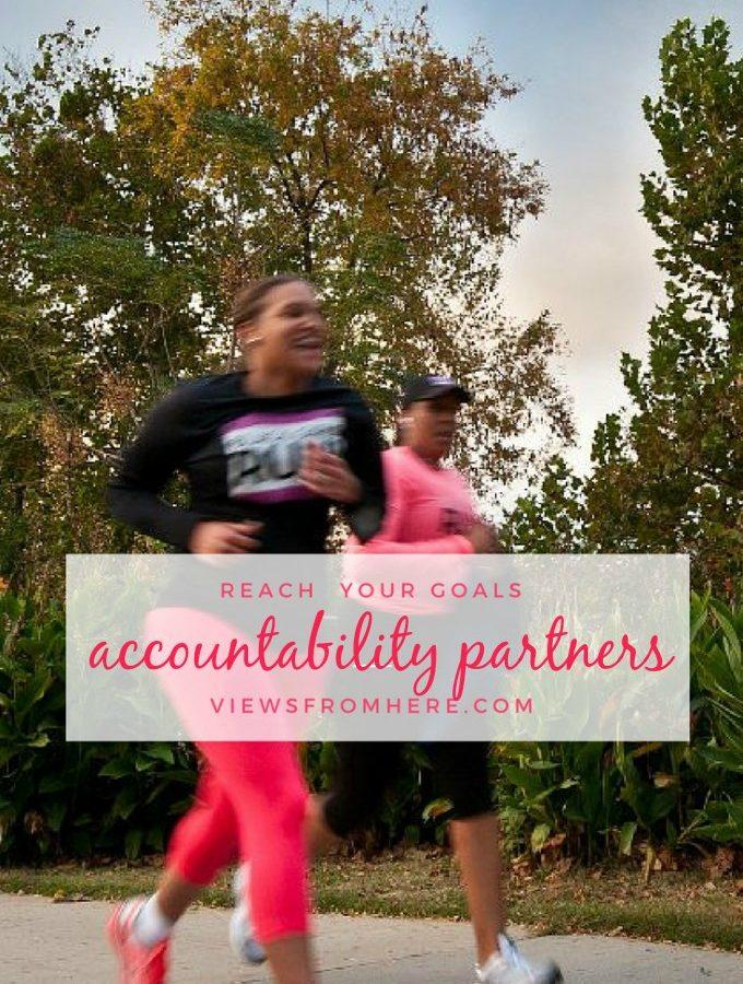 reach your goals with an accountability partner