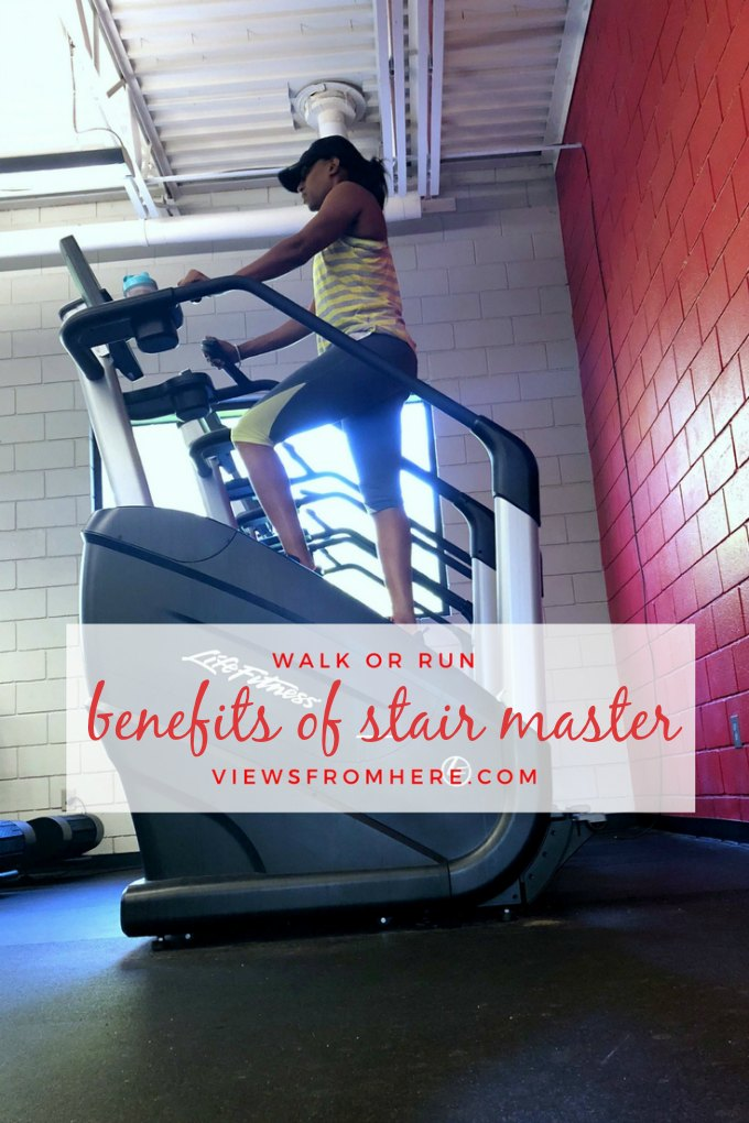 Walk or Run: The benefits of hitting the stair master