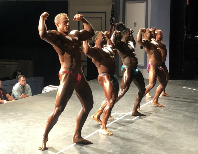 2018 NPC Upstate Classic bodybuilding