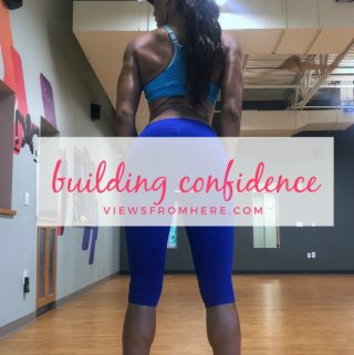 building my confidence