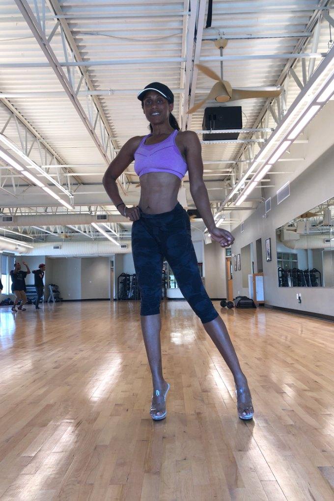 peak week posing practice to make tweaks