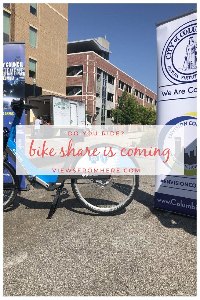 bike share program is coming to columbia