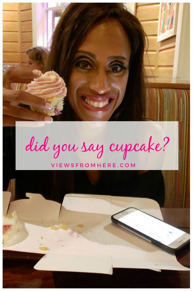 my cupcake sweet tooth