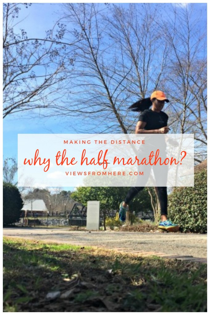 training for the half marathon