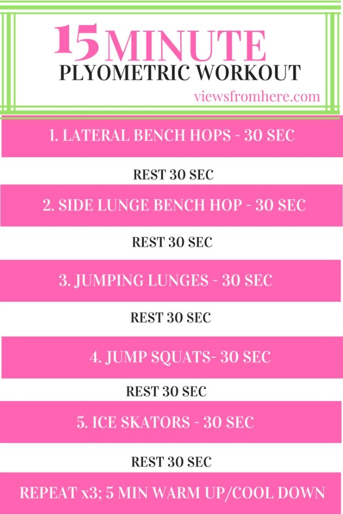 15 min plyometric workout description