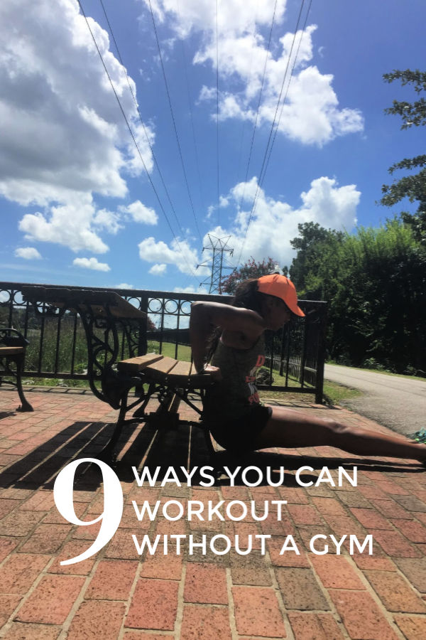 Nine ways you can workout without a gym membership