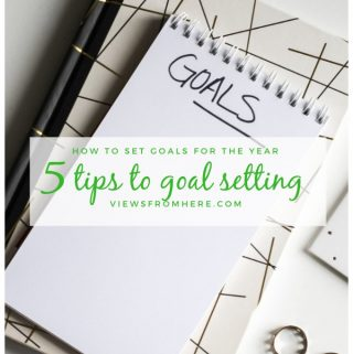tips to set goals for the new year
