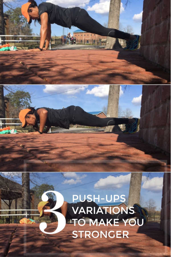 Be stronger with three push up variations