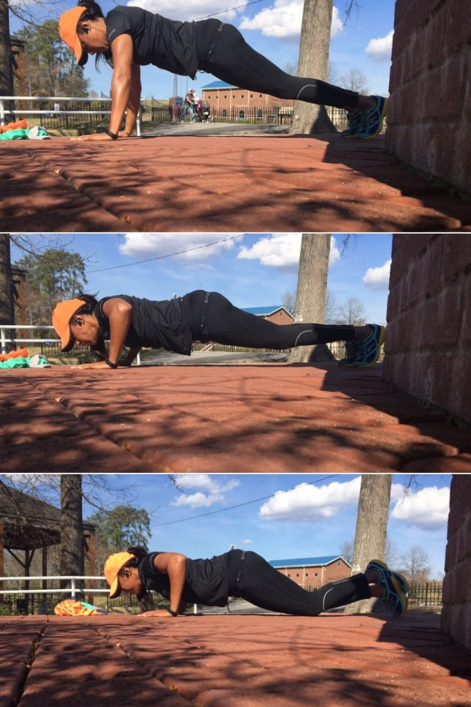 Three push-ups  variations that will help you become stronger.