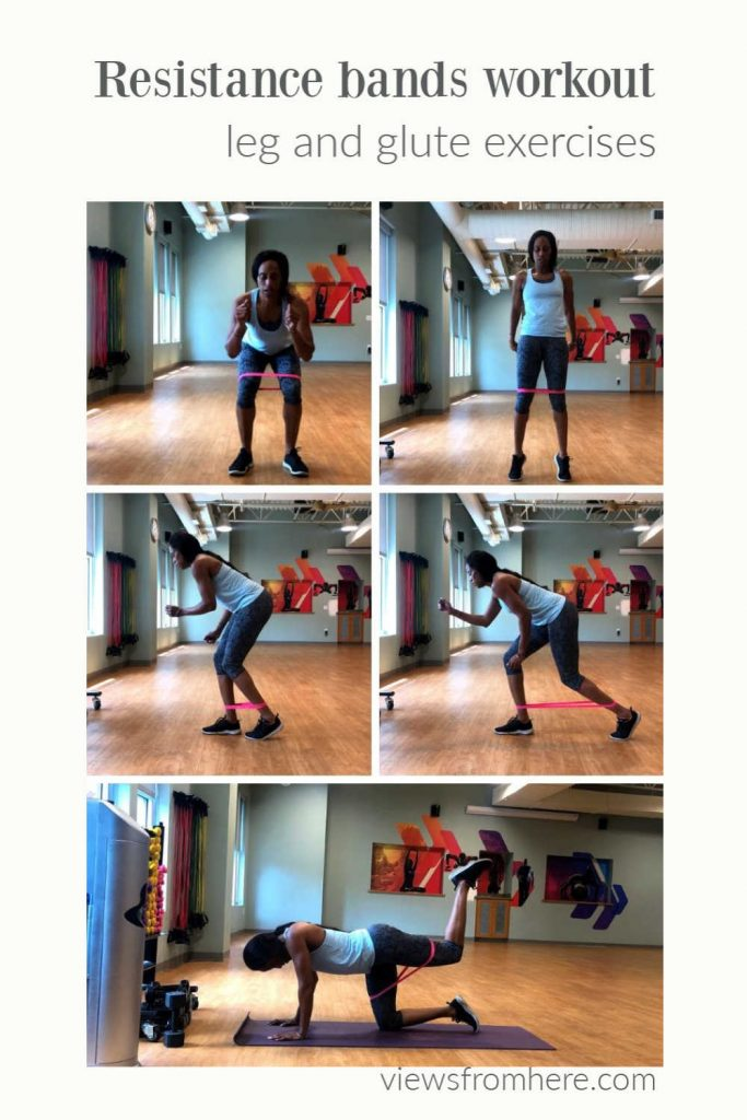 resistance band workout and exercises