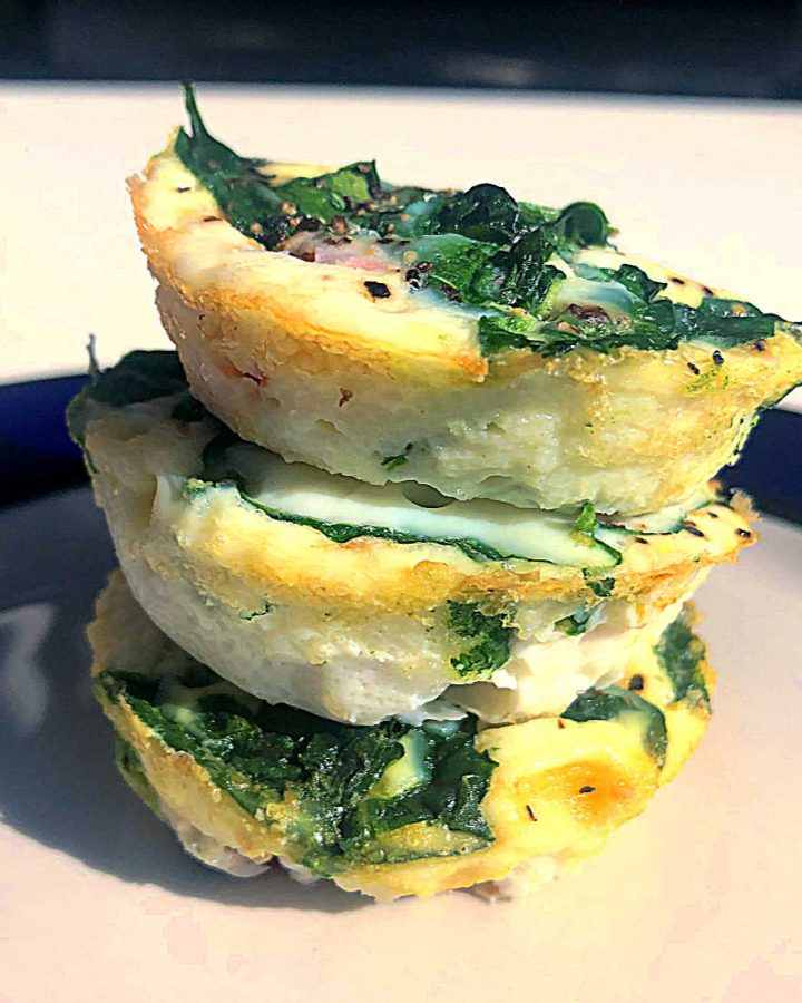 breakfast egg muffins made three ways