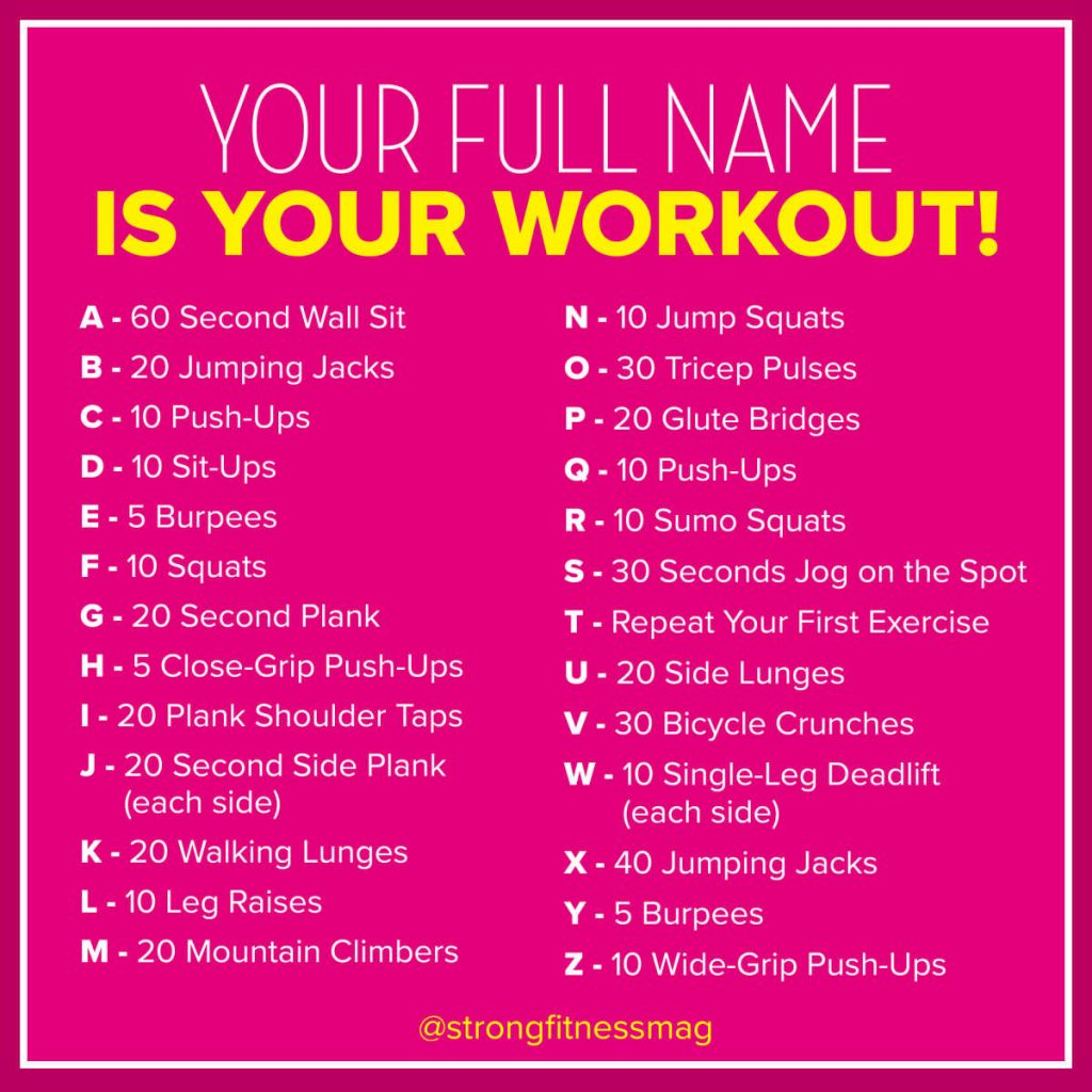 full name home workout without equipment for beginners