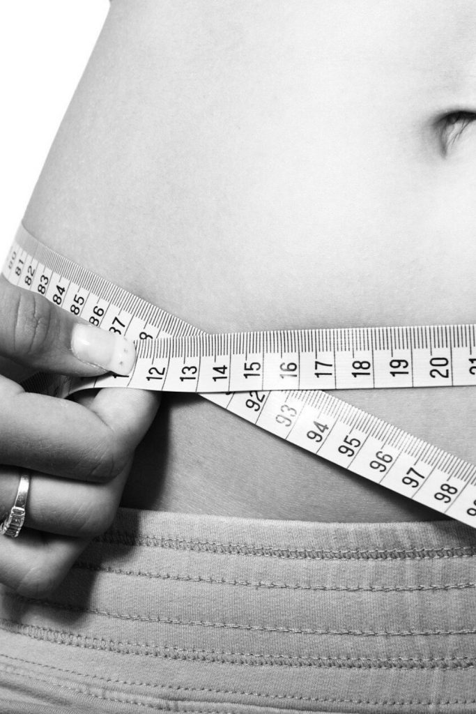 Tracking weight loss progress through measurements