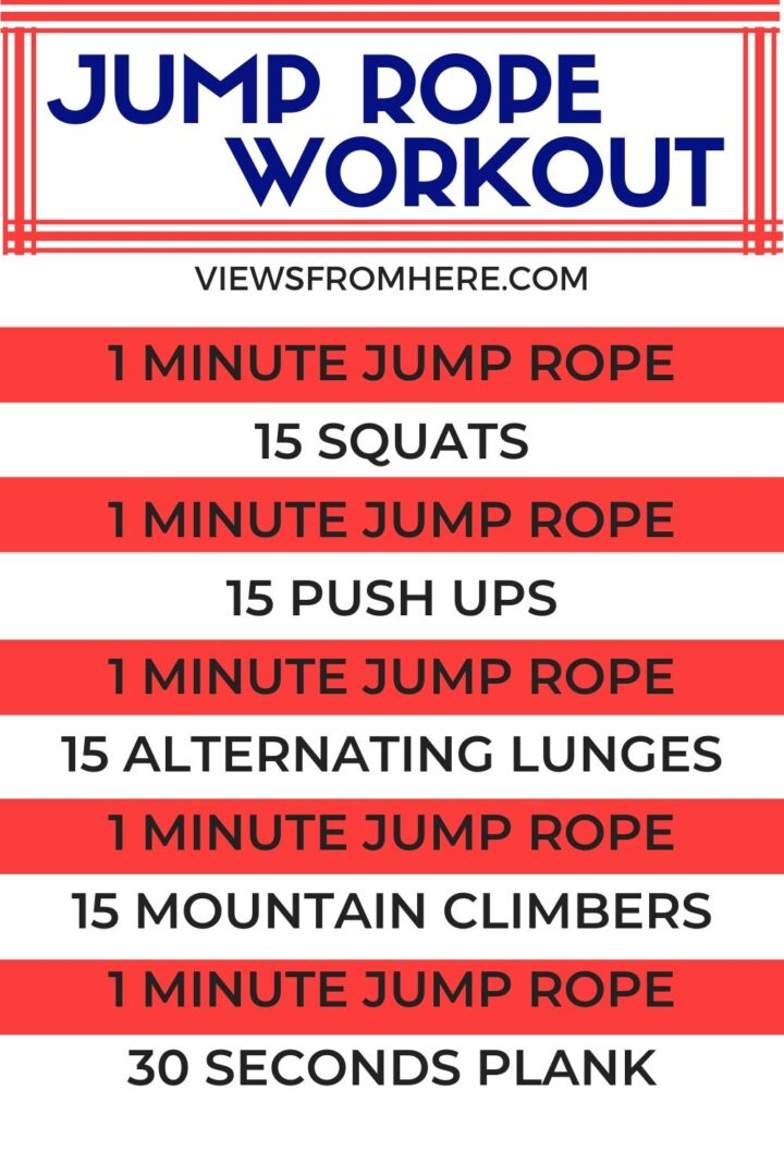 jump rope interval workout