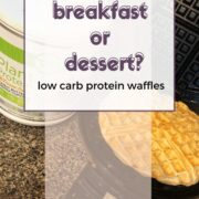 proftein waffles and protein mix