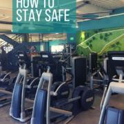 gym floor with cardio equipment